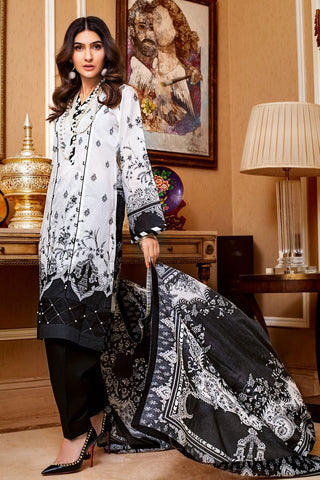 Gul Ahmed Lawn 2020 Stitched 3 Piece B#69