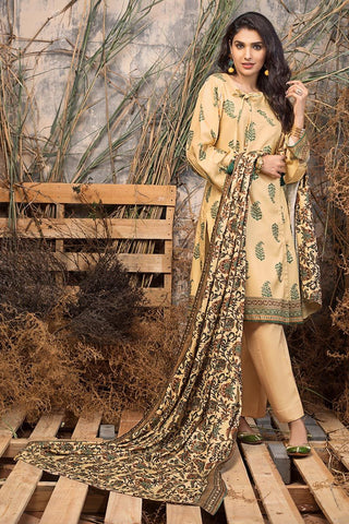 Gul Ahmed Winter Stitched 3pc LT#21