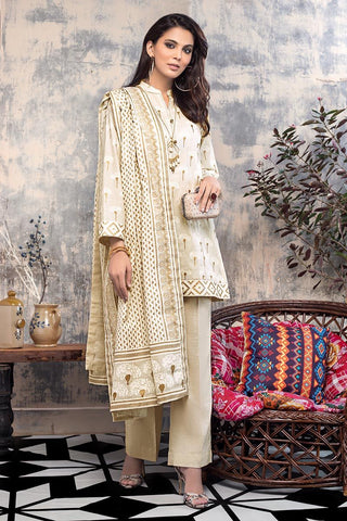 Gul Ahmed Winter Stitched 3pc K#89
