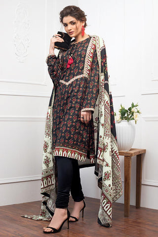 Gul Ahmed Winter Stitched 3pc LT#09