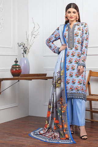 Gul Ahmed Winter Stitched 3pc LT#05