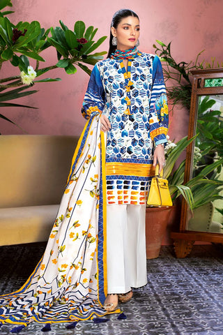 Gul Ahmed Lawn 2020 Stitched 3 Piece CL#811