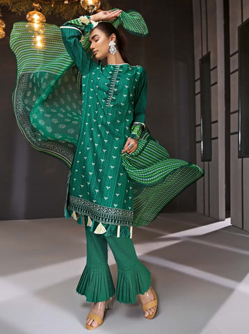 GUL AHMED WINTER BM-84 Chiffon