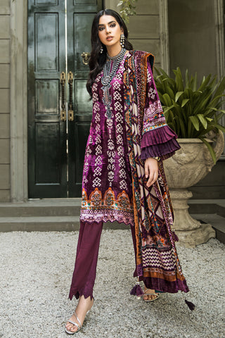 Gul Ahmed Stitched Velvet 2020 BVL#22