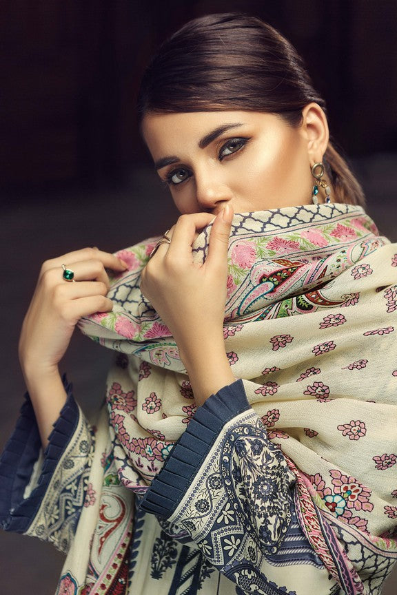 GUL AHMED WINTER SW-45 Emb. Silk wool