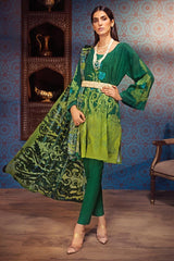 Gul Ahmed Winter Stitched 3pc MV#15