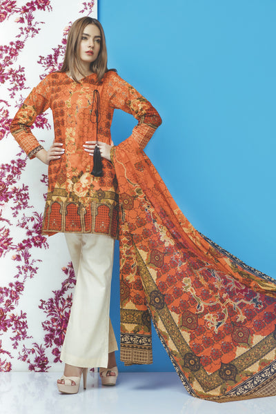 3 PC STITCHED SUIT USE7395