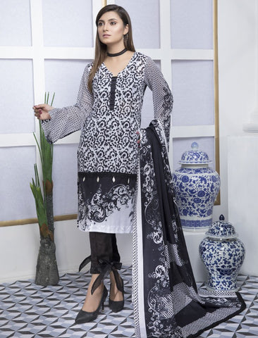 Stitched 3 Piece KL-4036