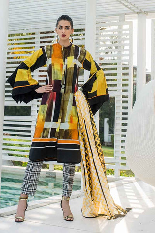 GUL AHMED LAWN STITCHED 3 PIECE 2019 CL#463
