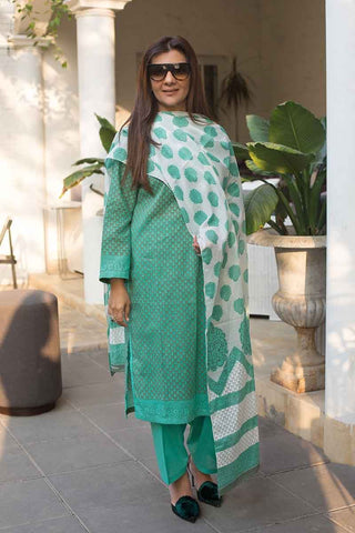 GUL AHMED LAWN STITCHED 3 PIECE 2019 CL#567B