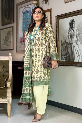 GUL AHMED LAWN STITCHED 3 PIECE 2019 CL#575B