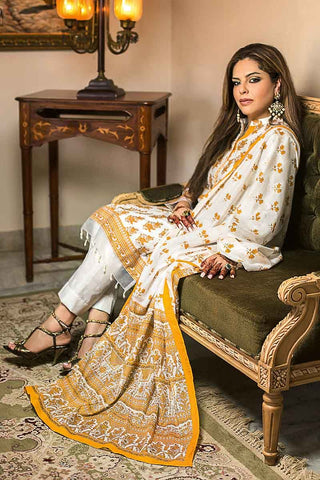 GUL AHMED LAWN STITCHED 3 PIECE 2019 CL#578B