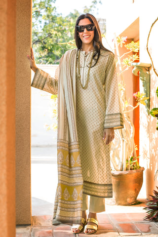 GUL AHMED LAWN STITCHED 3 PIECE 2019 CL#576A
