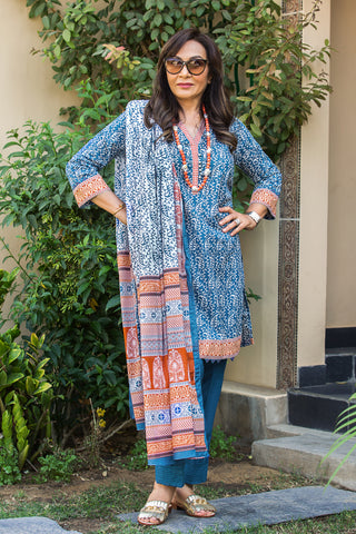 GUL AHMED LAWN STITCHED 3 PIECE 2019 CL#577A