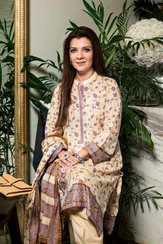 GUL AHMED LAWN STITCHED 3 PIECE 2019 CL#574B
