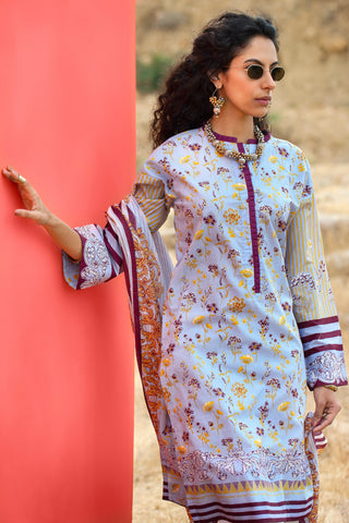 Gul Ahmed Lawn 2020 Stitched 2 Piece TL#239B