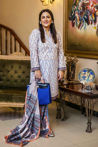 GUL AHMED LAWN STITCHED 3 PIECE 2019 CL#580A