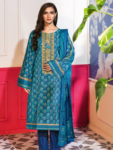 Gul Ahmed Lawn 2020 Stitched 3 Piece CL#834B
