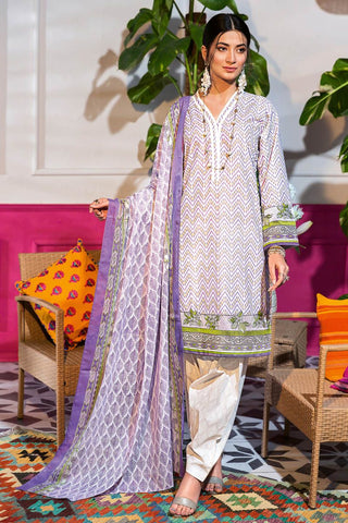 Gul Ahmed Lawn 2020 Stitched 3 Piece CL#840A