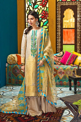 Gul Ahmed Stitched 3 Piece FE#280