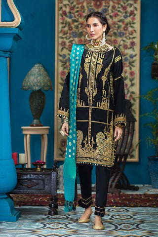 Gul Ahmed Stitched 3 Piece FE#287