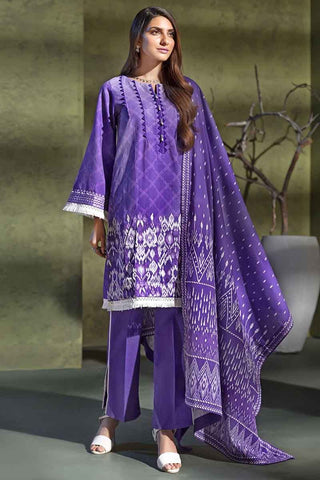 Gul Ahmed Stitched Winter 3 Piece  K#78