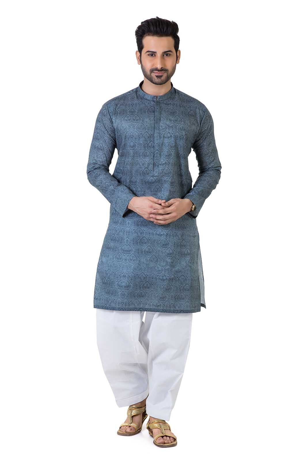 Latest Men's Shalwar Kameez For Eid