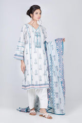 Printed Lawn 3 Pcs Suit ABC93P-037B