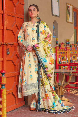 Gul Ahmed Lawn 2020 Stitched 3 Piece TR#06