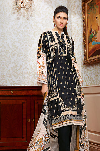 Gul Ahmed Lawn 2020 Stitched 3 Piece B#65