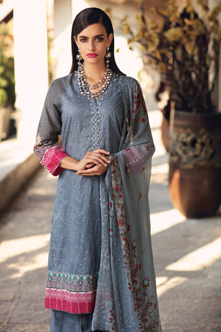 Gul Ahmed Lawn 2020 Stitched 3 Piece BCT#08