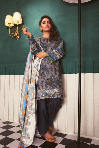 SATRANGI Three Piece suit CC183P-13B