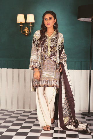SATRANGI Three Piece suit CC183P-19