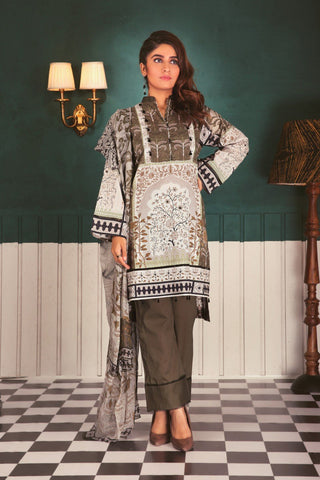 SATRANGI Three Piece suit CC183P-23A