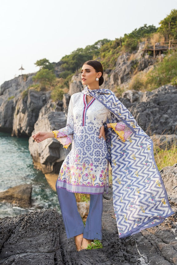 GUL AHMED LAWN STITCHED 3 PIECE 2019 CL#526A