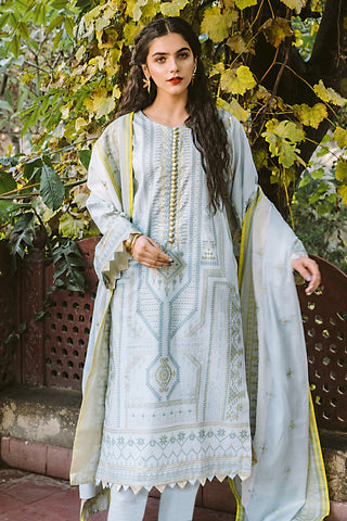 Gul Ahmed Lawn 2020 Stitched 3 Piece CL#879