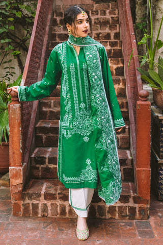 Gul Ahmed Lawn 2020 Stitched 3 Piece CL#923