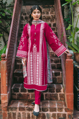 Gul Ahmed Lawn 2020 Stitched 3 Piece CL#899