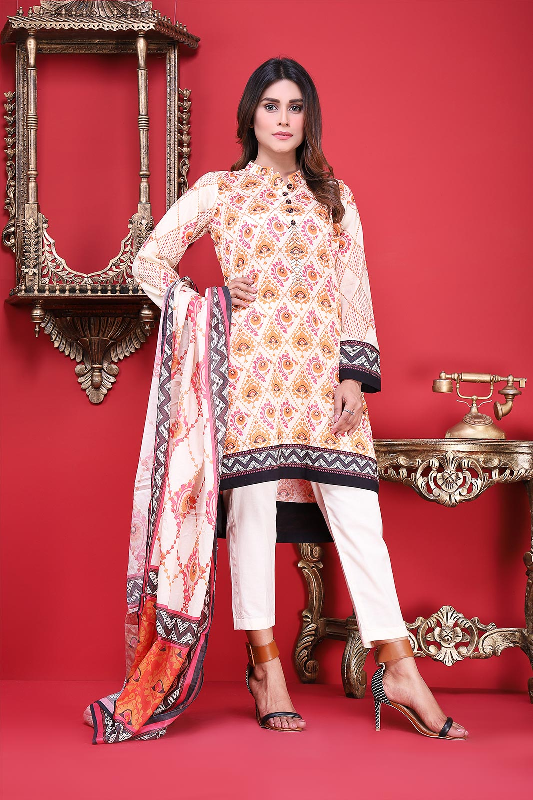 Satrangi Unstitched Eid Collection