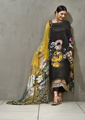GUL AHMED DIGITAL SILK 3 Pcs Digital Silk DGS#67