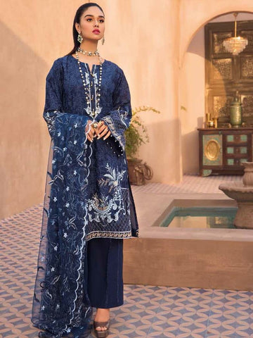 Gul Ahmed Lawn 2020 Stitched 3 Piece PM#310