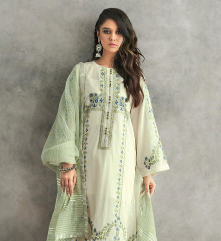 Gul Ahmed Lawn 2020 Stitched 3 Piece MJ#19
