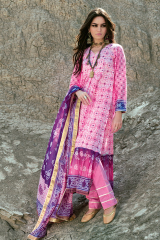 Gul Ahmed Lawn 2020 Stitched 3 Piece CL#873