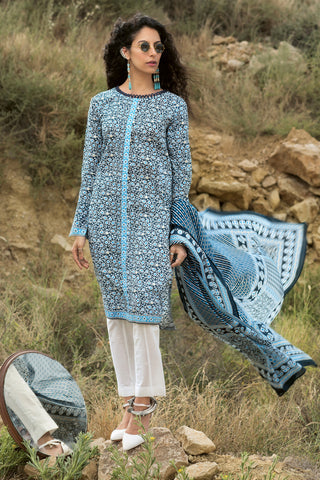 Gul Ahmed Lawn 2020 Stitched 2 Piece TL#241B