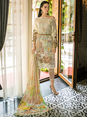 GUL AHMED FORMAL 2019 STITCHED 3 PIECE + INNER PS#02