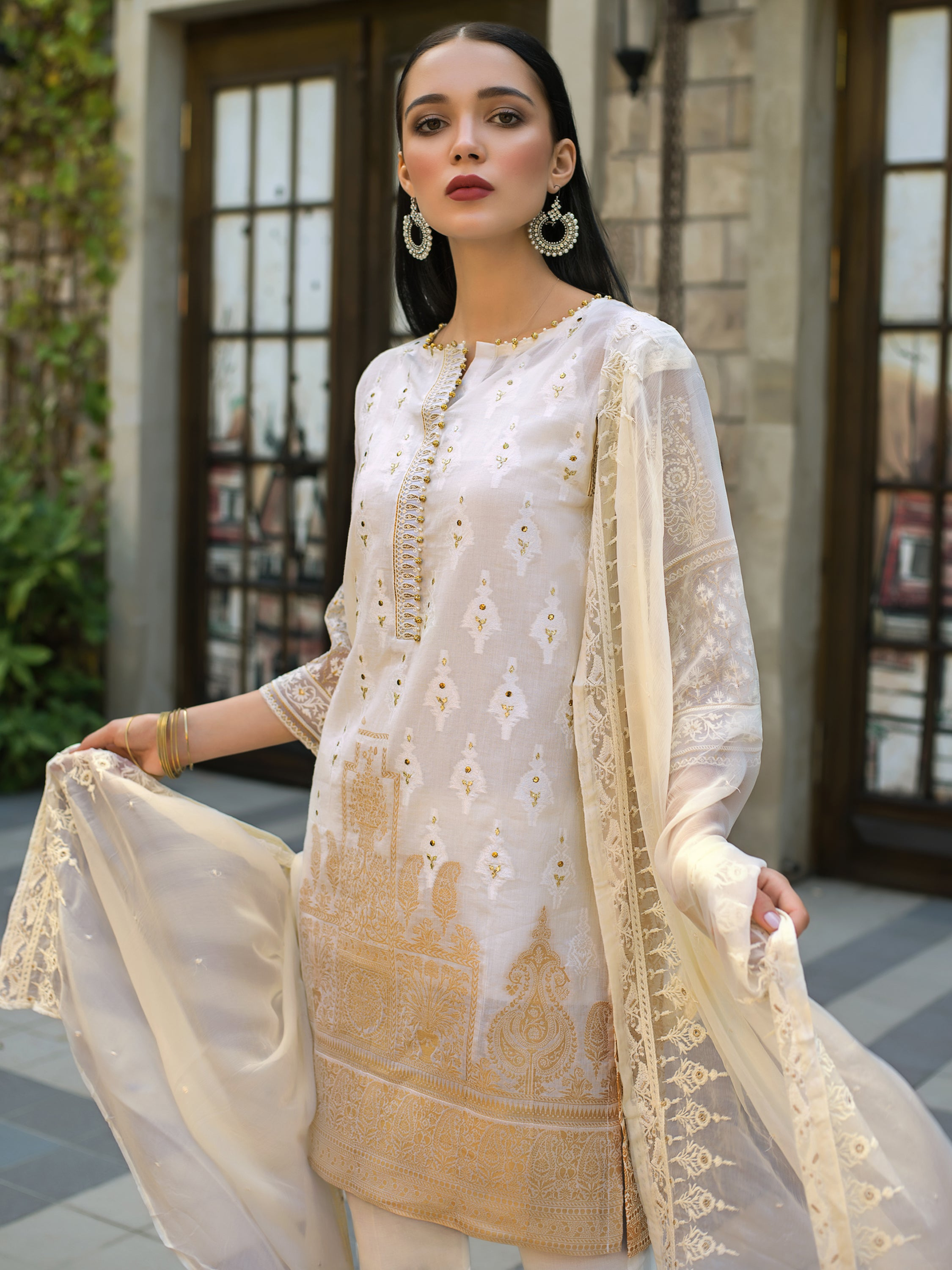 GUL AHMED FORMAL 2019 STITCHED 3 PIECE  PS#08