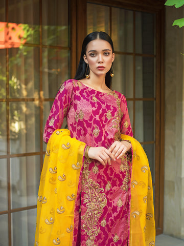 GUL AHMED FORMAL 2019 STITCHED 3 PIECE + INNER PS#12