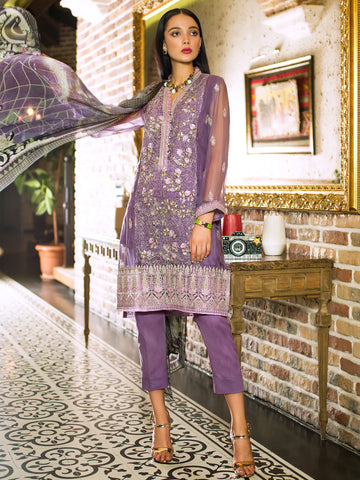GUL AHMED FORMAL 2019 STITCHED 3 PIECE + INNER PS#03