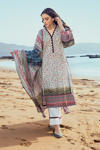 Gul Ahmed Lawn 2020 Stitched 3 Piece CL#822