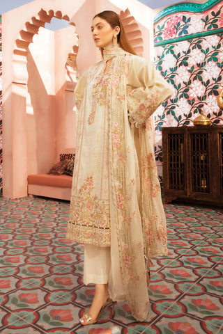 Gul Ahmed Lawn 2020 Stitched 3 Piece PM#353